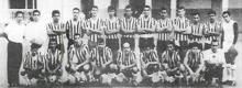 Diriangén 1940. Foto tomada del libro: Una historia de gol y pasión de Luis Mójica Sánchez