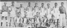 Diriangén pentacampeón (41-45). Foto tomada del libro: Una historia de gol y pasión de Luis Mójica Sánchez
