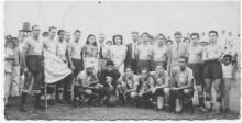Diriangén 1947. Foto tomada del libro: Una historia de gol y pasión de Luis Mójica Sánchez