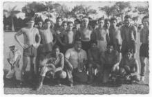 Diriangén 1951. Foto tomada del libro: Una historia de gol y pasión de Luis Mójica Sánchez